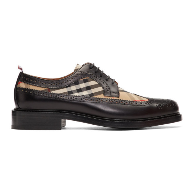 Photo: Burberry Black Andale KC Brogues
