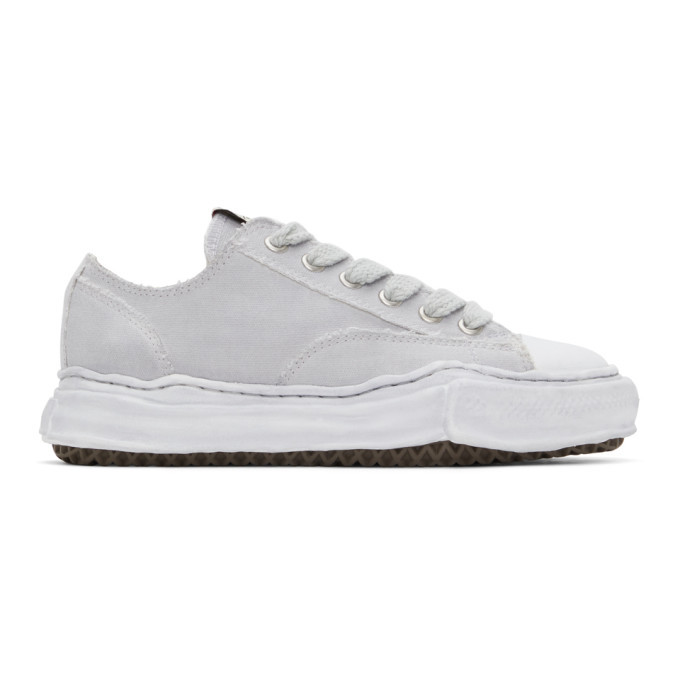 Photo: Miharayasuhiro Grey Over-Dyed OG Sole Peterson Sneakers