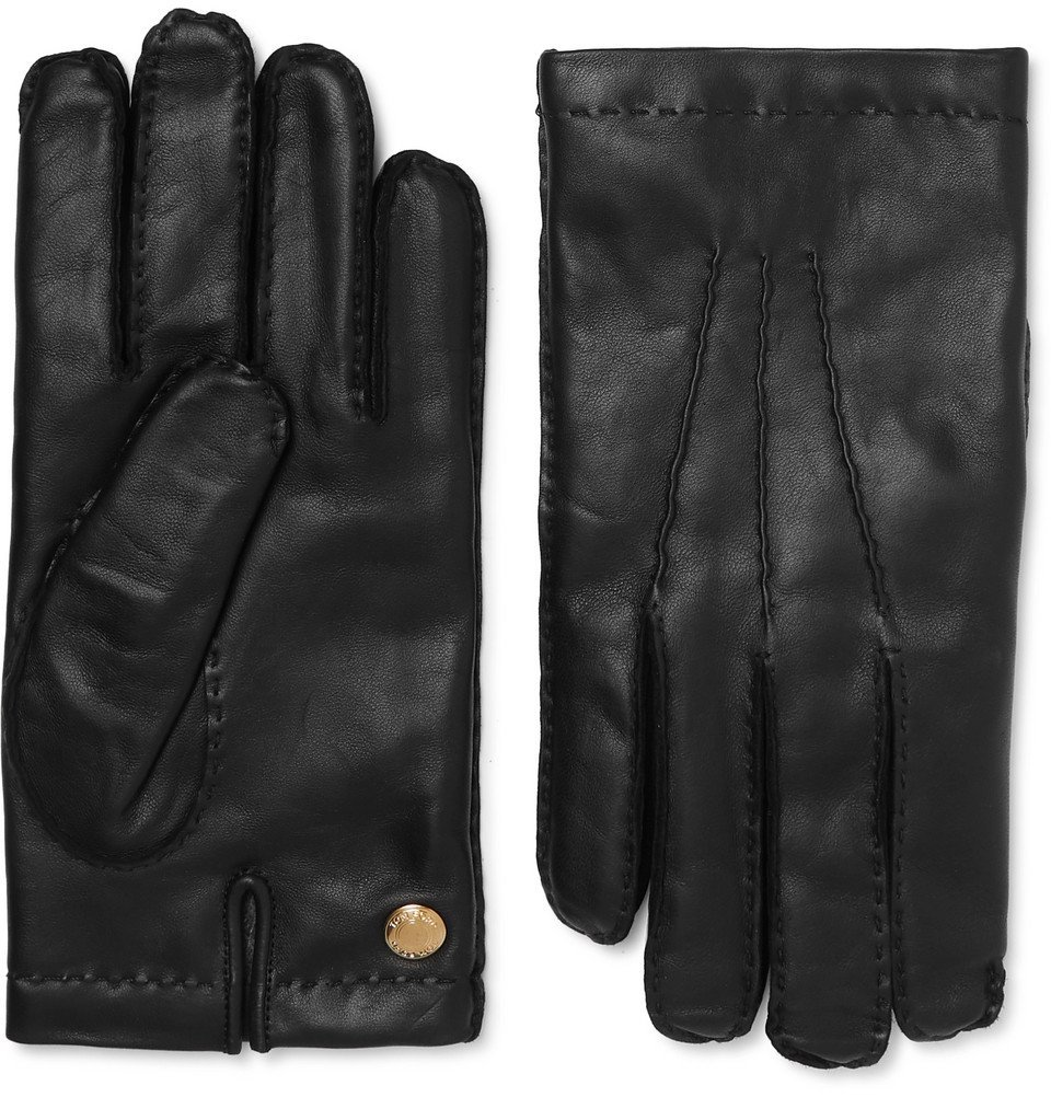 Photo: TOM FORD - Cashmere-Lined Leather Gloves - Black