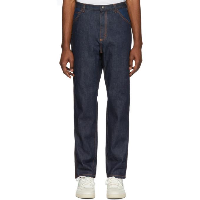 Photo: A.P.C. Indigo Job Jeans