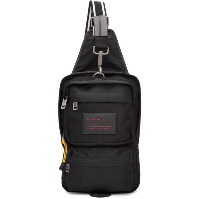 Photo: Givenchy Black Nylon UT3 Crossbody Bag
