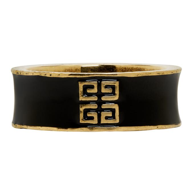 Photo: Givenchy Gold My Love 4G Band Ring