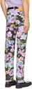 Martine Rose Black & Multicolor Floral Ronnie Jeans