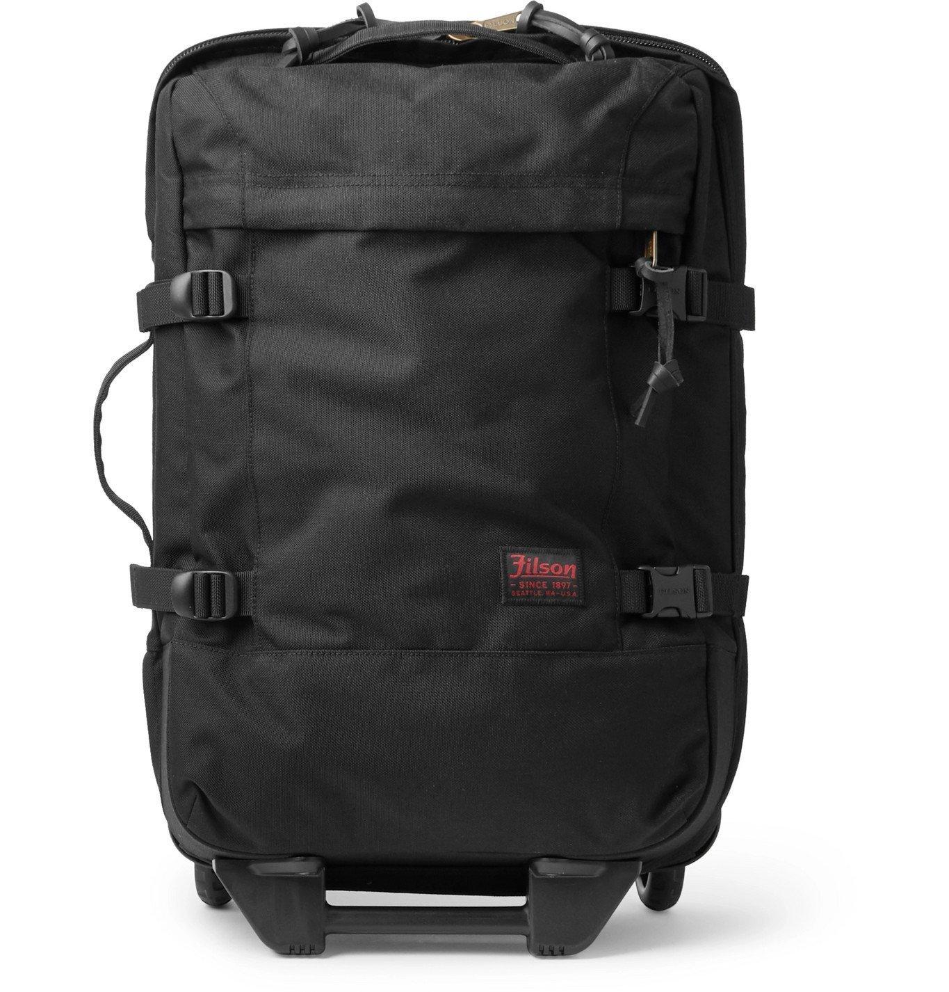 Filson - Dryden 56cm Leather-Trimmed CORDURA Carry-On Suitcase - Blue