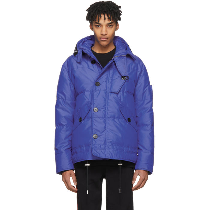 Photo: Givenchy Blue Puffer Down Jacket