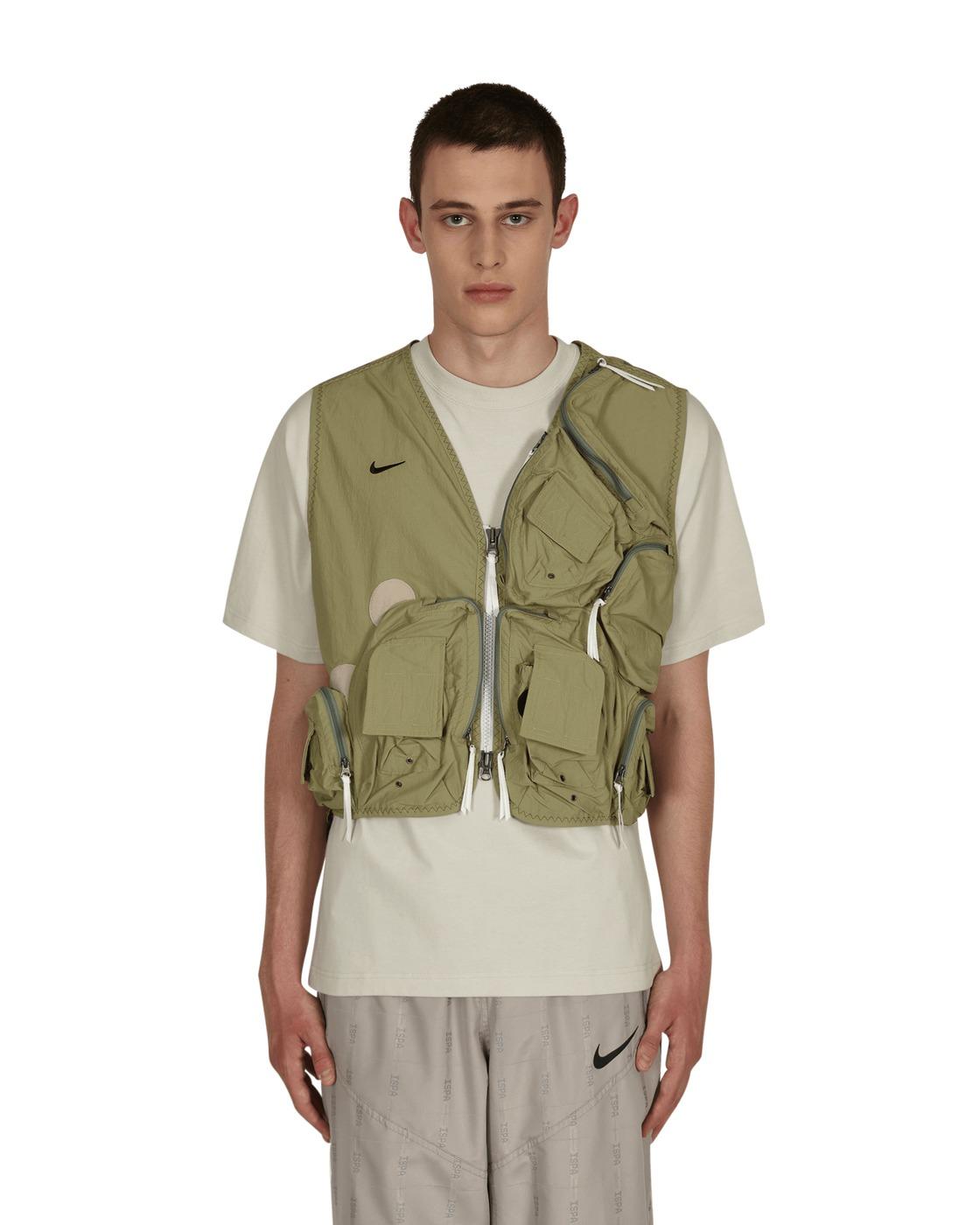 Photo: Nike Special Project Ispa Utility Vest Medium Khaki