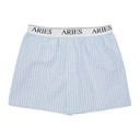 Aries Blue Narrow Stripe Boxers