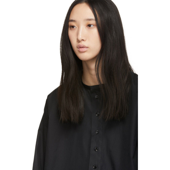 Lemaire Black Twisted Shirt