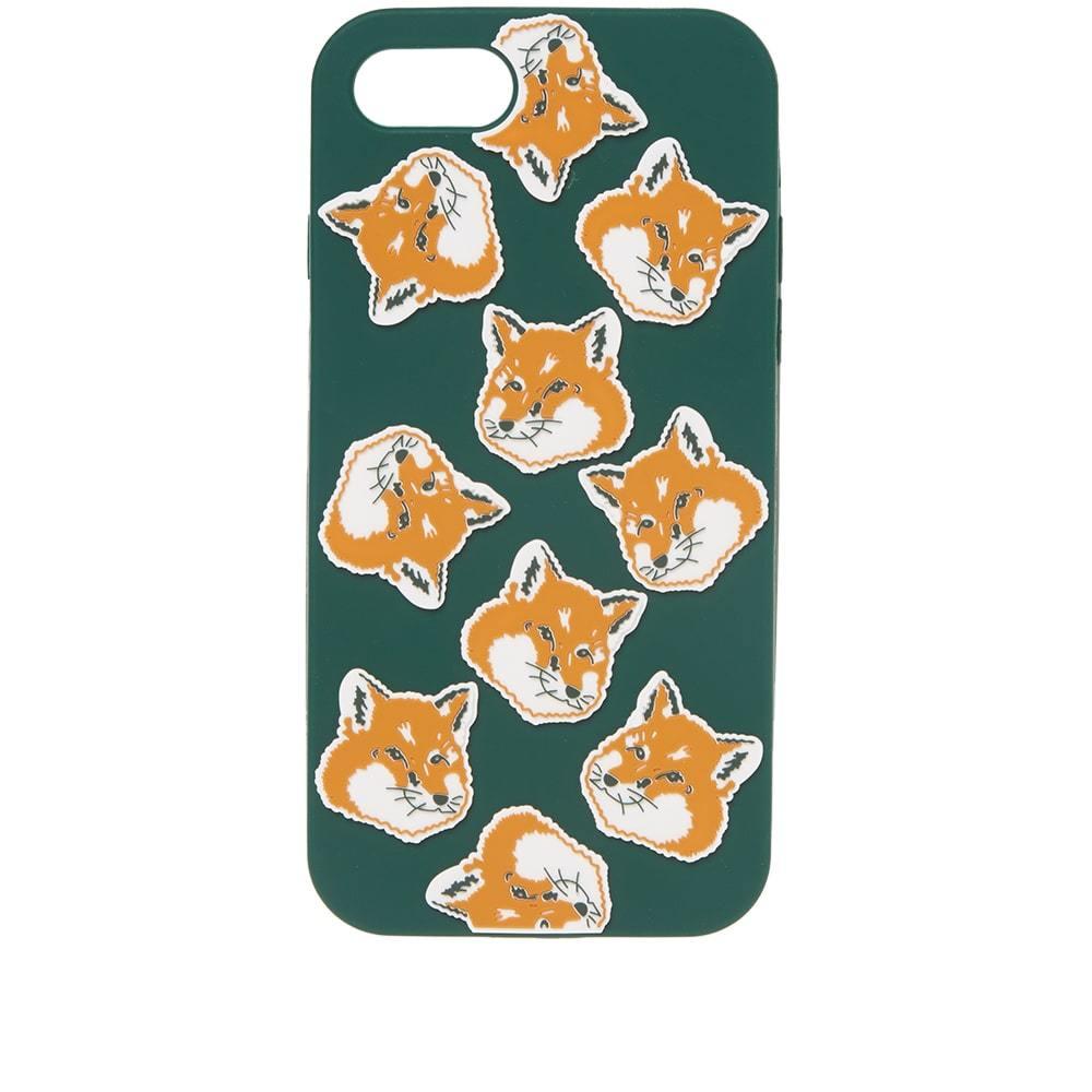 Photo: Maison Kitsuné 3D All-Over Fox Head Print iPhone 8 Case