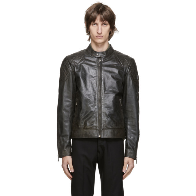 Photo: Belstaff Black Outlaw Jacket