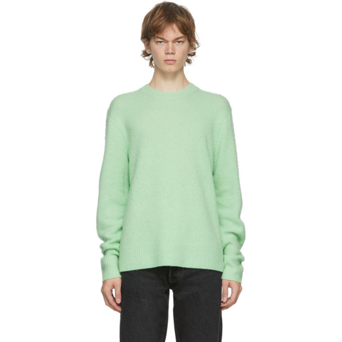 Photo: Acne Studios Green Wool and Cashmere Sweater