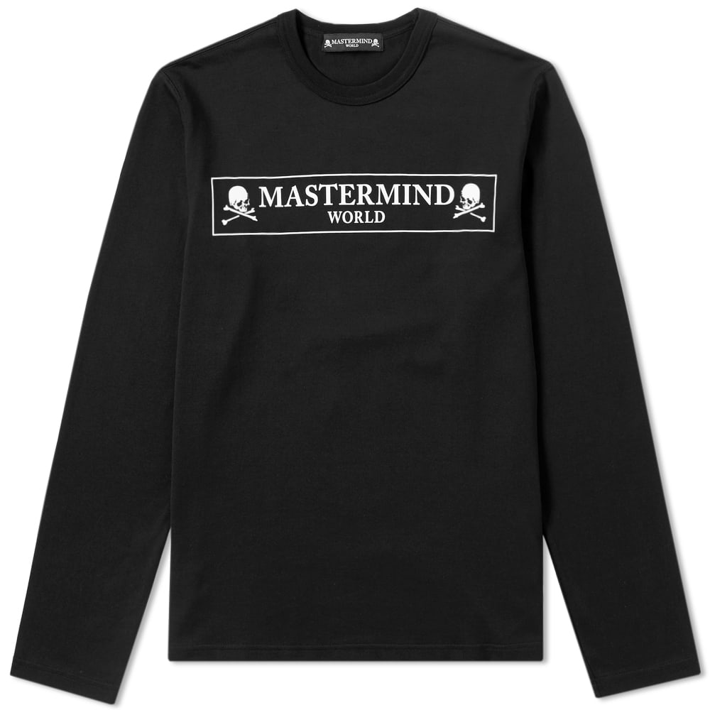Photo: MASTERMIND WORLD Long Sleeve Box Logo Tee