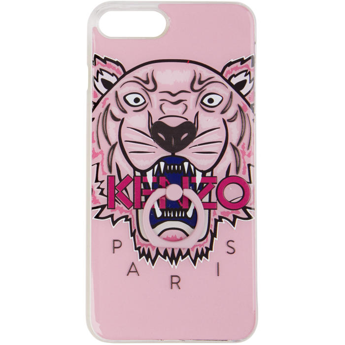 Photo: Kenzo Pink 3D Tiger iPhone 7 Plus and 8 Plus Case