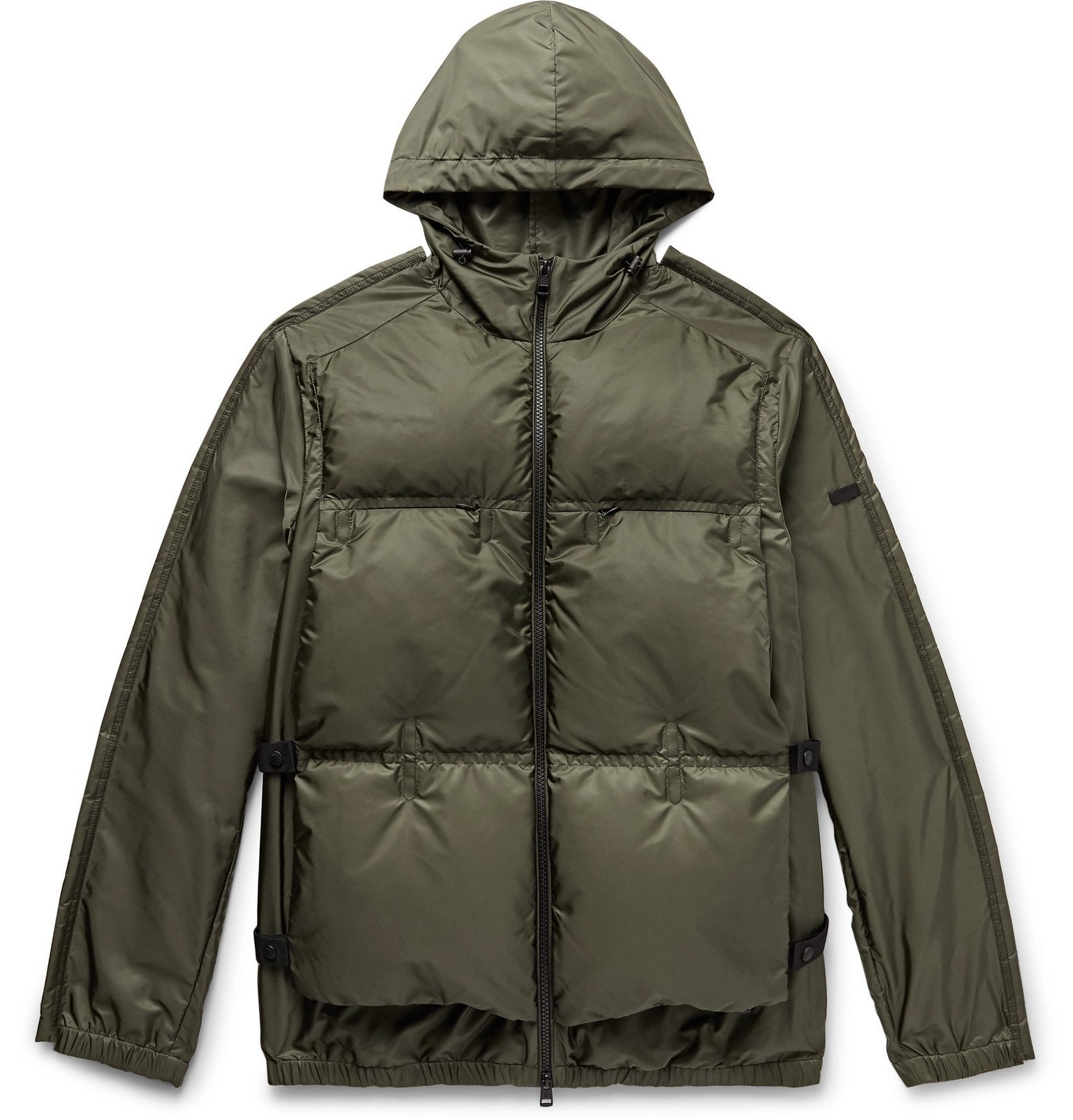 Photo: Moncler Genius - 5 Moncler Craig Green Alten Quilted Shell Hooded Down Jacket - Green