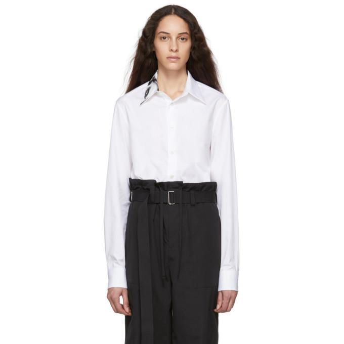 Raf Simons White Small Fit Punkette Shirt
