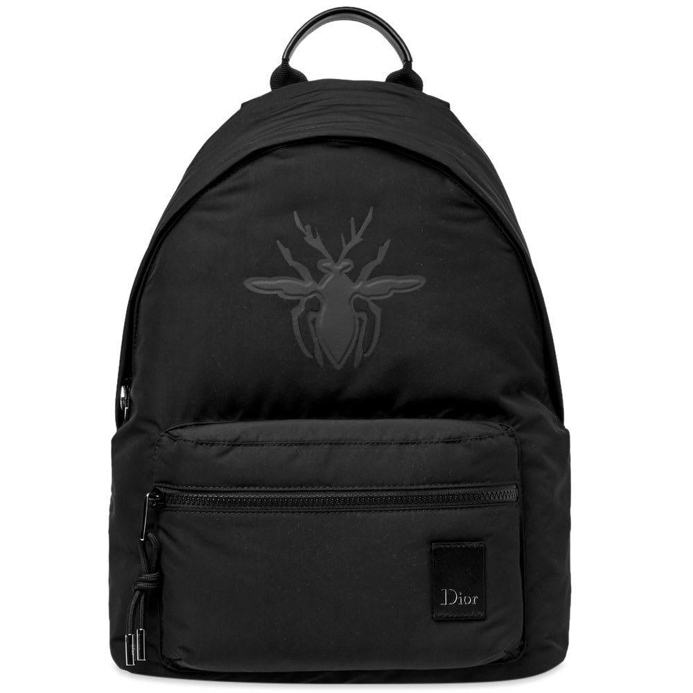 Photo: Dior Homme Bee Embossed Backpack