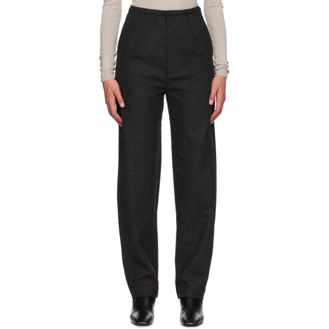 Photo: Toteme Grey Wool Evora Trousers