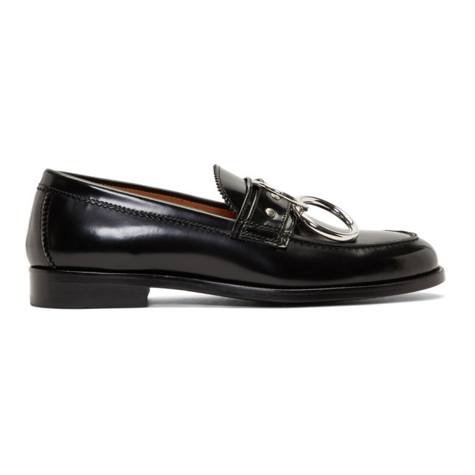 Photo: HOPE Black Patent Patty Ring Loafers