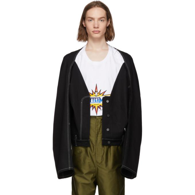 Photo: Botter Black Denim Trouser Jacket