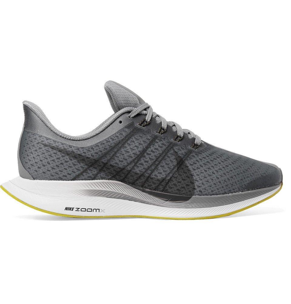 Nike Running - Nike Air Zoom Pegasus 35 Turbo Mesh Sneakers - Men - Gray