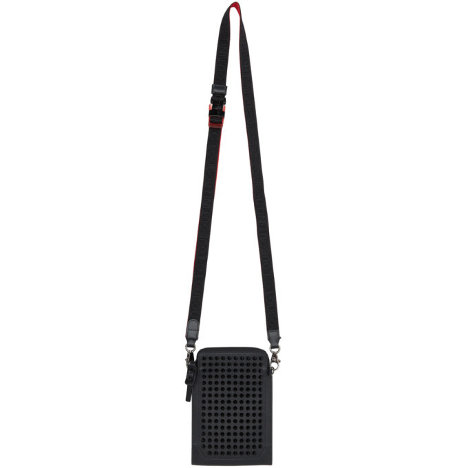 Photo: Christian Louboutin Black Loubilab Messenger Bag