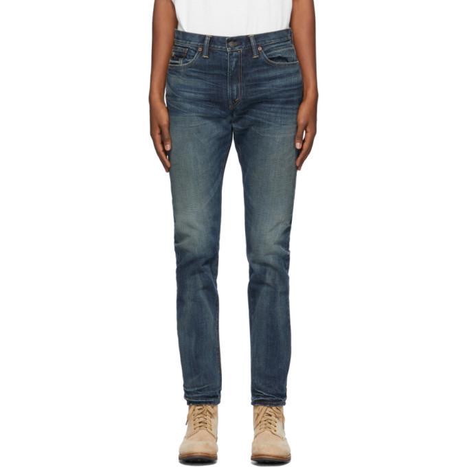 Photo: RRL Blue Mayes Slim Jeans