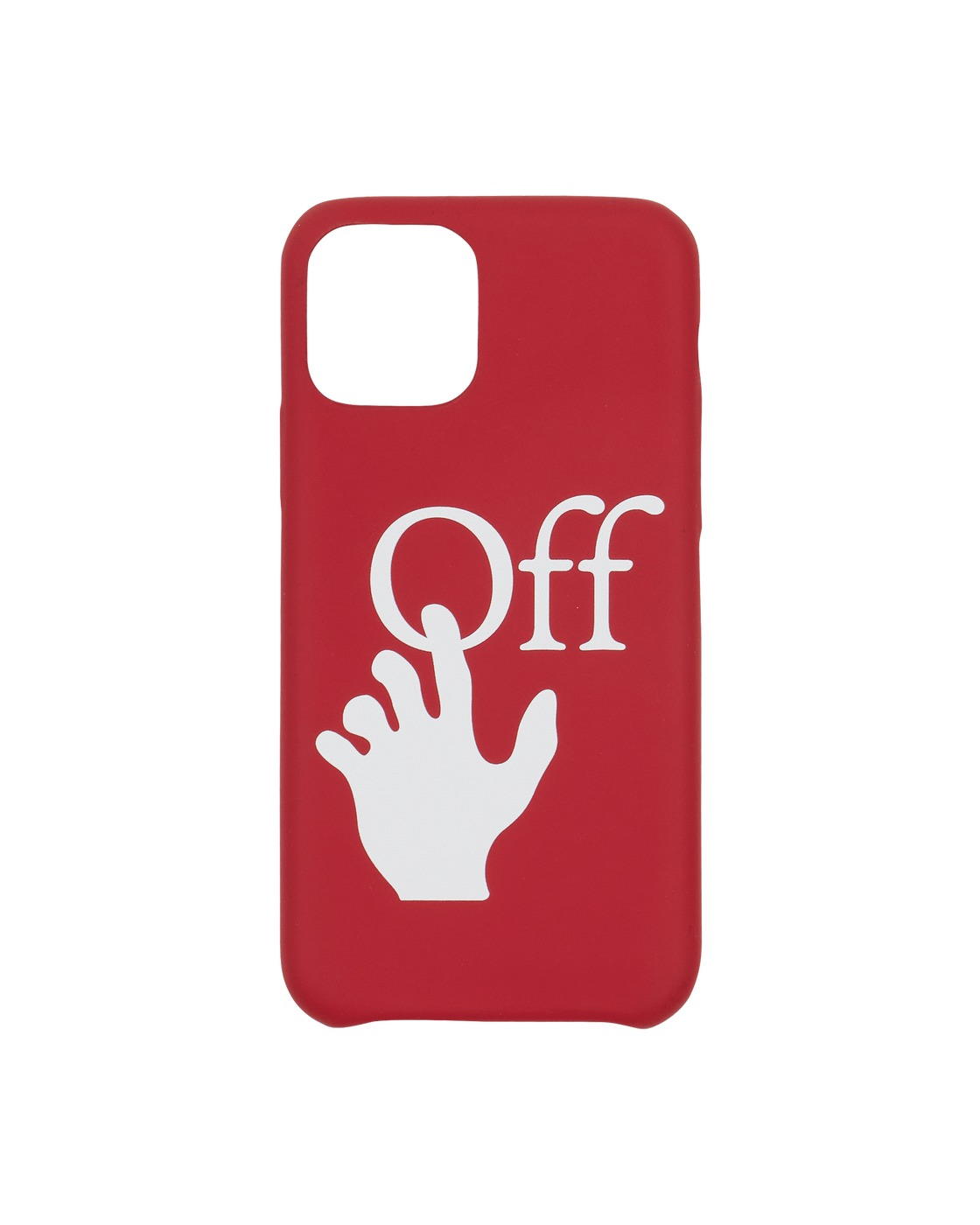 Photo: Off White Hand Off Iphone 11 Pro Case Red/White