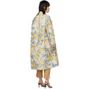 Nina Ricci Multicolor Floral Over Coat