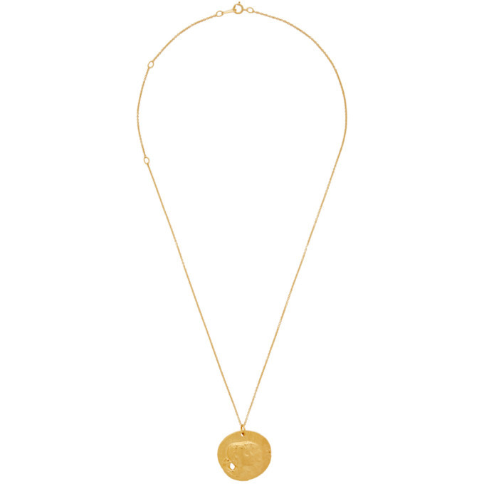 Photo: Alighieri Gold The Other Side Of The World Necklace