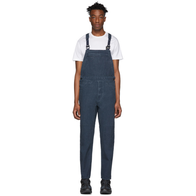 Photo: Stone Island Blue RE-T Overalls