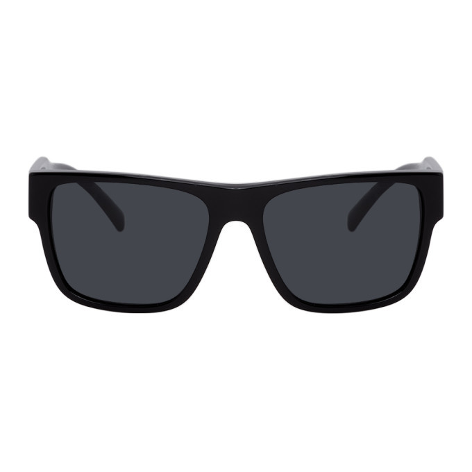 Photo: Versace Black Vintage Logo Sunglasses