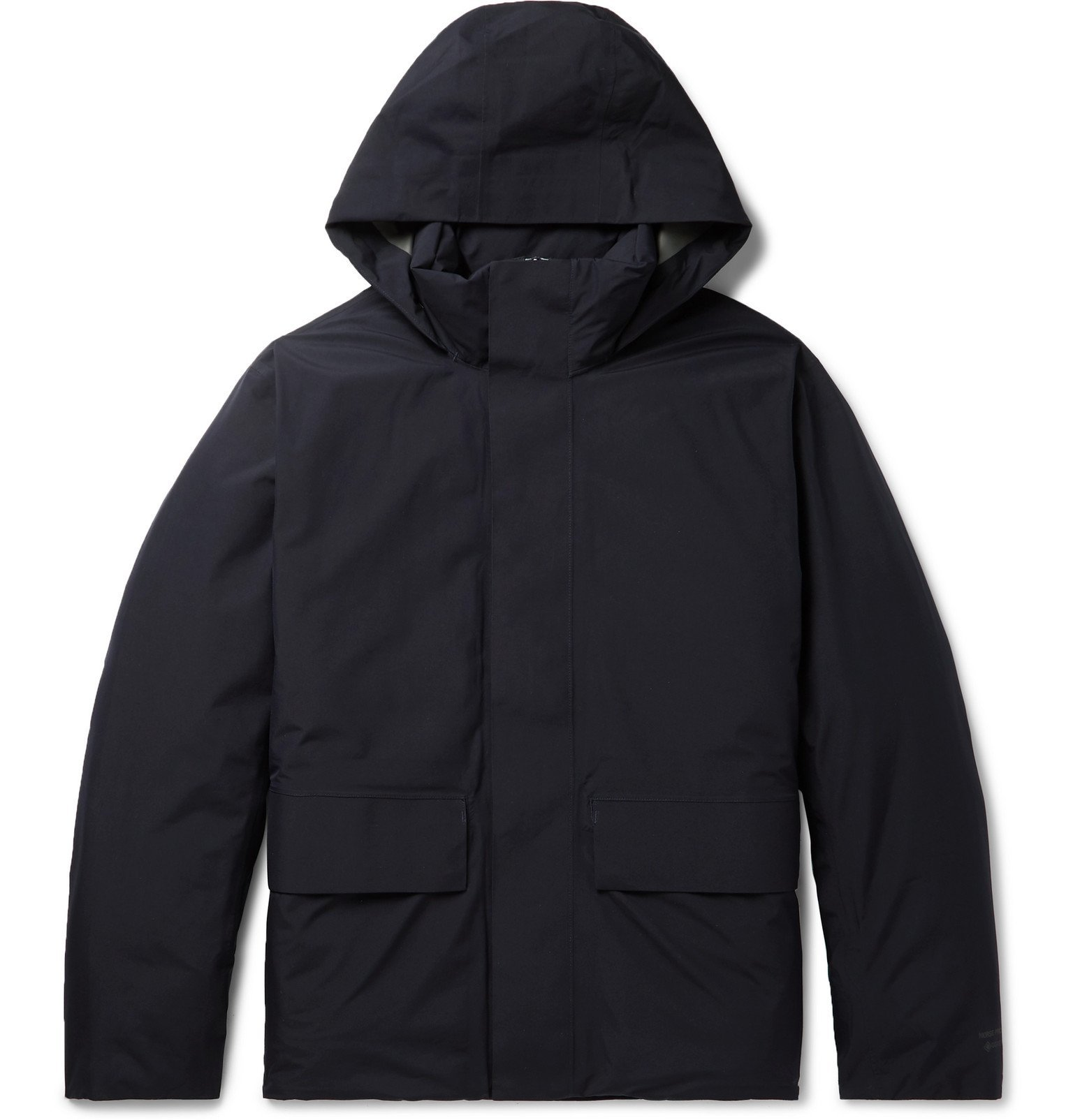 Photo: Norse Projects - Ystad GORE-TEX Hooded Down Parka - Blue