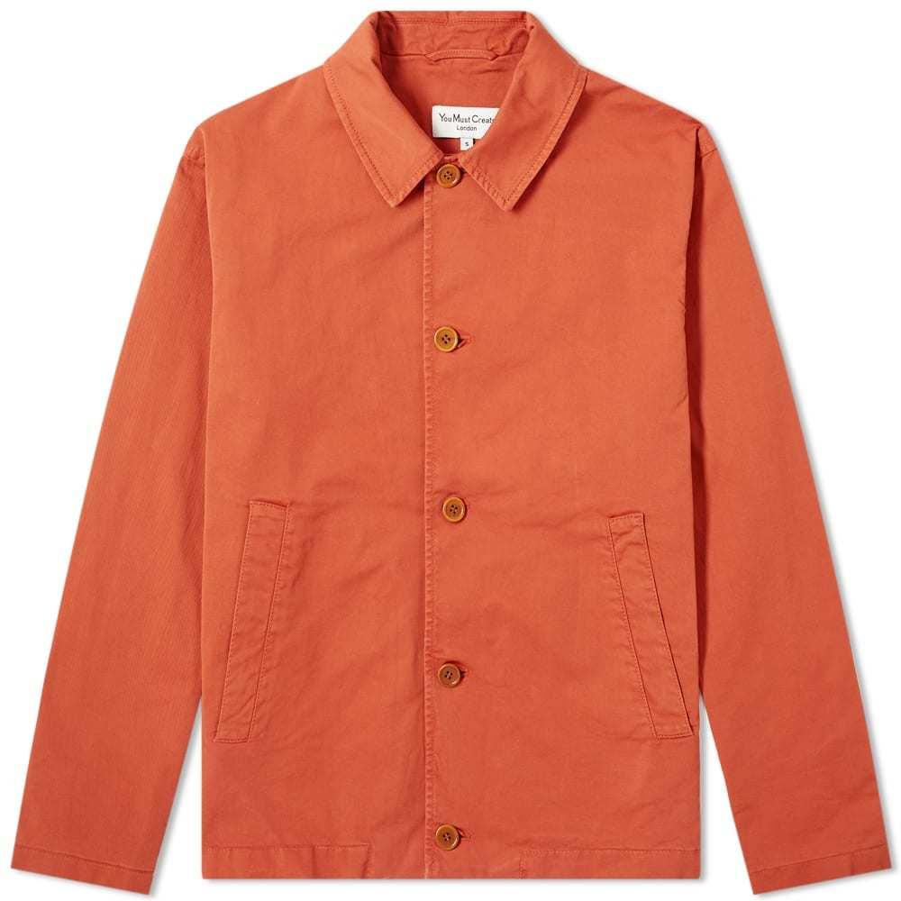 Photo: YMC Groundhog Cotton Twill Chore Jacket