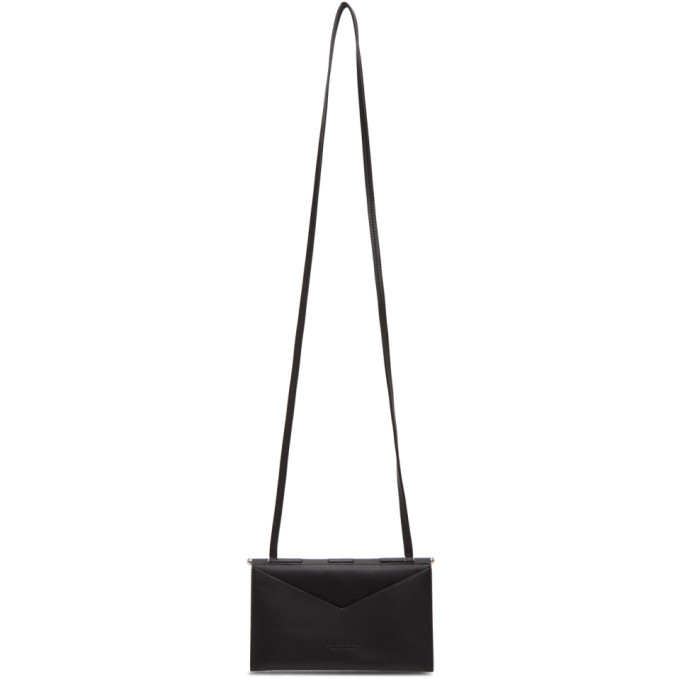 Photo: Bottega Veneta Black Flap Mini Bag