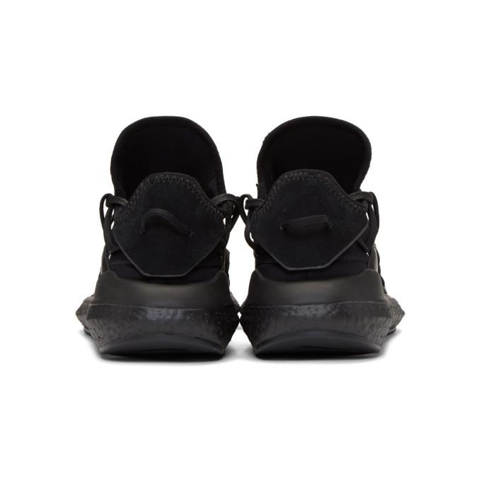 Y-3 Black Boost Kusari Sneakers