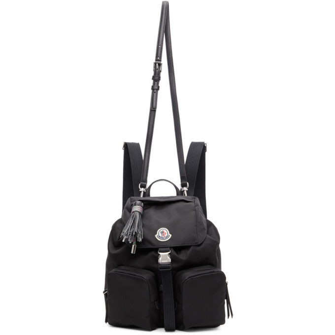 Photo: Moncler Black Large Dauphine Backpack