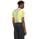 GmbH Yellow and White Technical T-Shirt