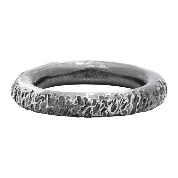 Photo: Chin Teo Silver Transmission Decay Ring