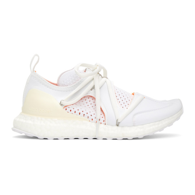 Photo: adidas by Stella McCartney White Ultraboost T Sneakers