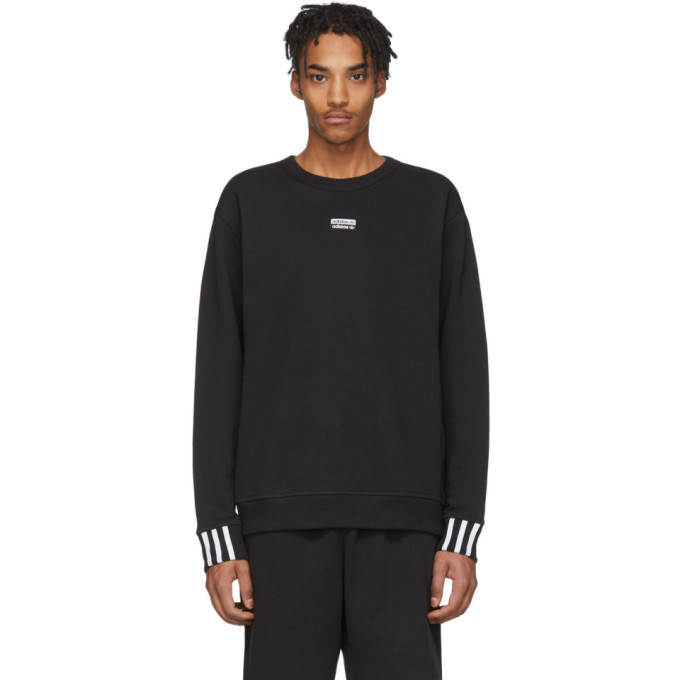 Photo: adidas Originals Black Vocal Sweatshirt
