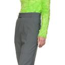 Martine Rose Grey Elasticized Trousers