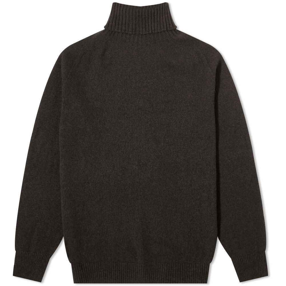 Photo: Margaret Howell Wide Roll Neck Knit