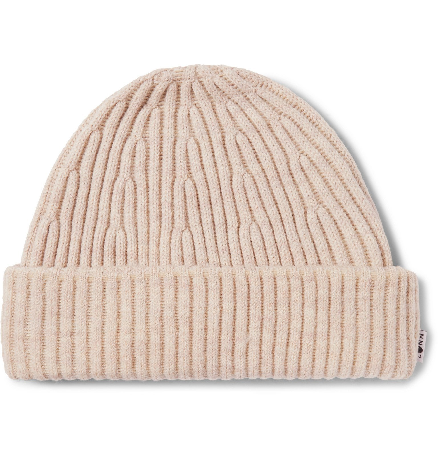 Photo: NN07 - Ribbed Wool-Blend Beanie - Neutrals