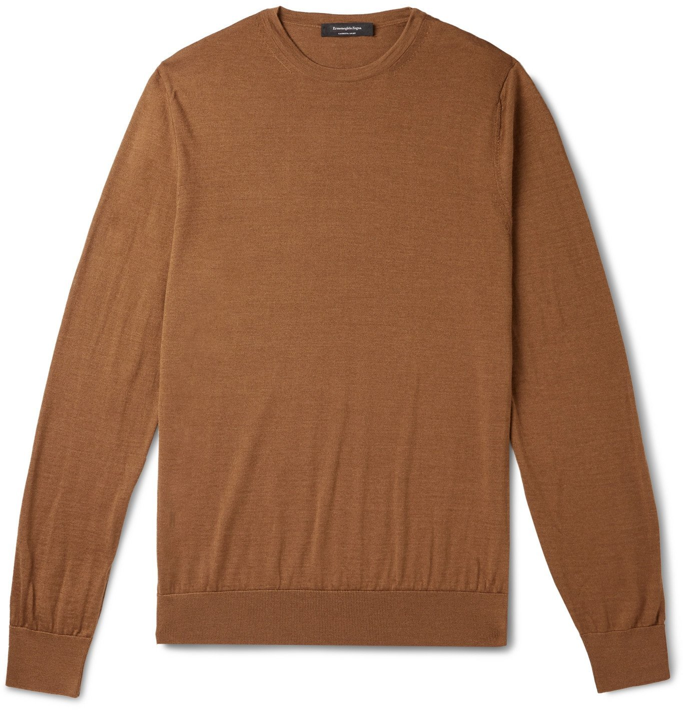 Photo: Ermenegildo Zegna - Slim-Fit Cashmere and Silk-Blend Sweater - Unknown