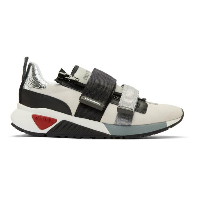 Photo: Diesel Off-White S-KB Strap Sneakers