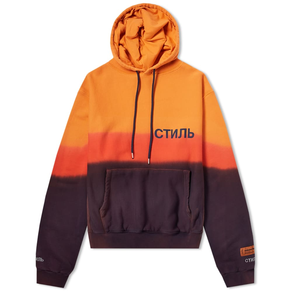 Photo: Heron Preston CTNMB Tie Dye Hoody Orange