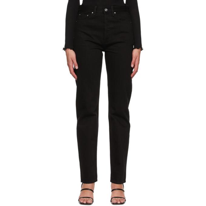 Photo: Toteme Black Ease Jeans