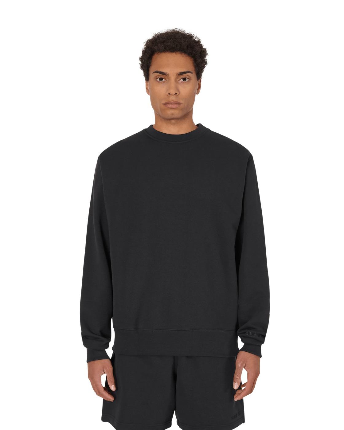 Adidas Originals Pharrell Williams Basics Crewneck Sweatshirt Black