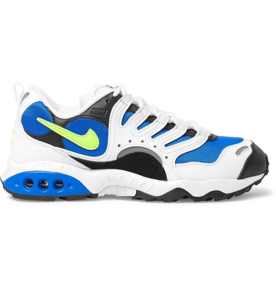 Photo: Nike - Air Terra Humara '18 Faux Leather and Mesh Sneakers - White