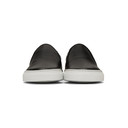 Common Projects Black and White Slip-On Sneakers